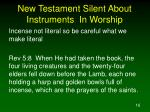 new testament silent about instruments in worship16