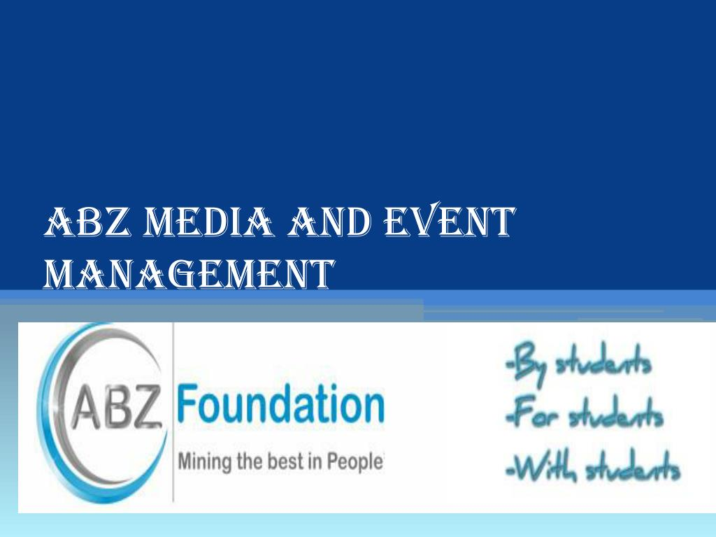 abz media and event management l.