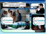 background of abz foundation