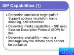 sip capabilities 1