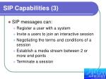 sip capabilities 3