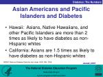 asian americans and pacific islanders and diabetes