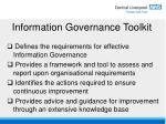 information governance toolkit6