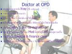 doctor at opd