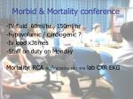 morbid mortality conference