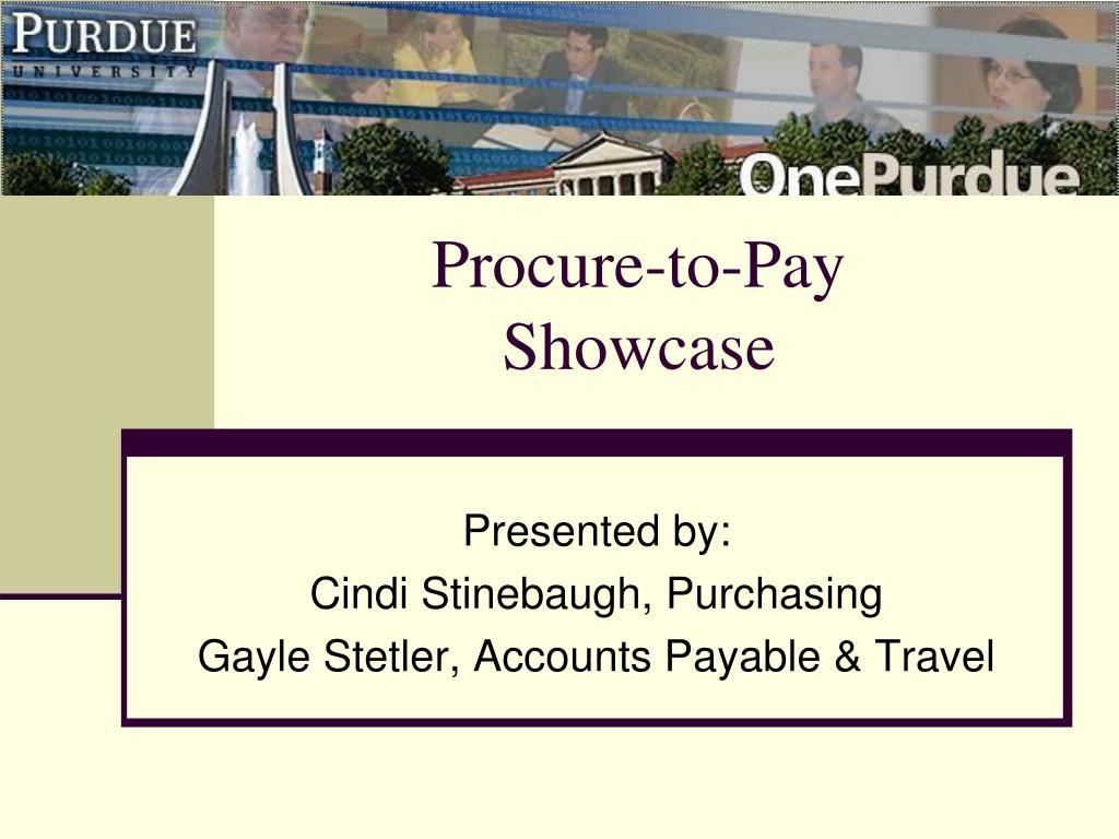 procure to pay showcase l.