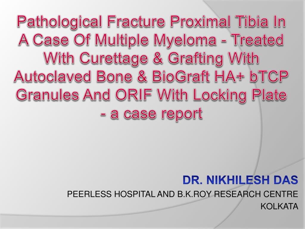 dr nikhilesh das peerless hospital and b k roy research centre kolkata l.