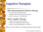 cognitive therapies20