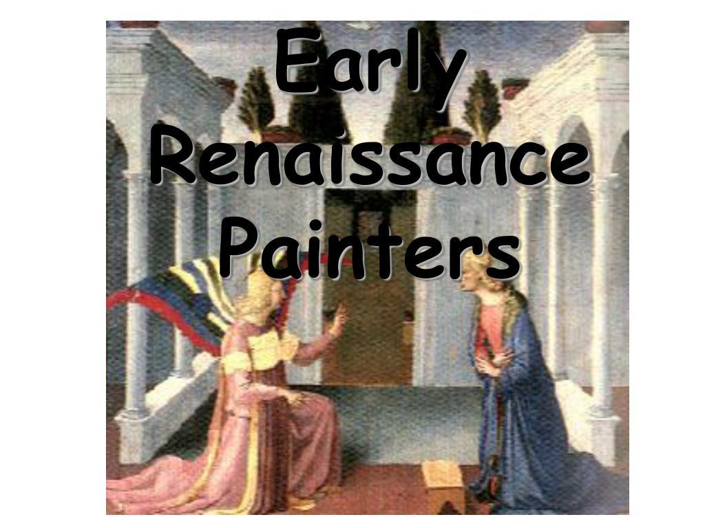 Early Renaissance