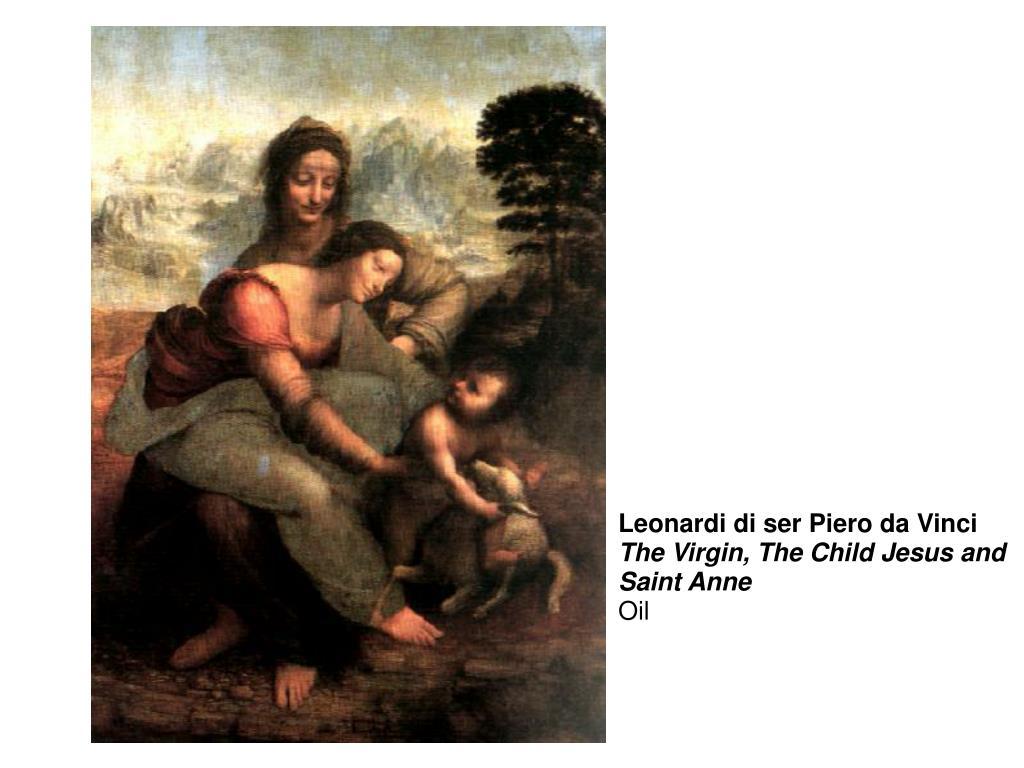 Leonardi di ser Piero da Vinci