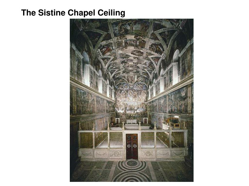 The Sistine Chapel Ceiling