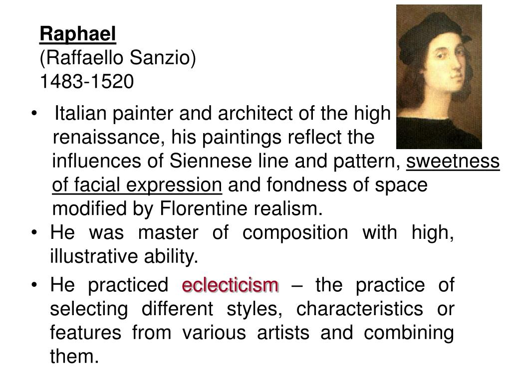 Italian painter and architect of the high