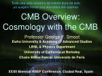 cmb overview cosmology with the cmb