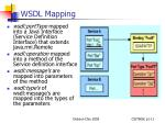 wsdl mapping
