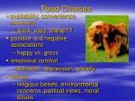 food choices4