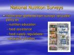 national nutrition surveys