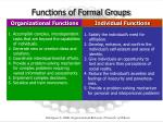 functions of formal groups