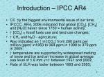 introduction ipcc ar4