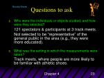questions to ask23