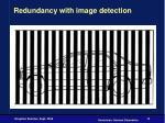 redundancy with image detection