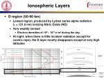 ionospheric layers