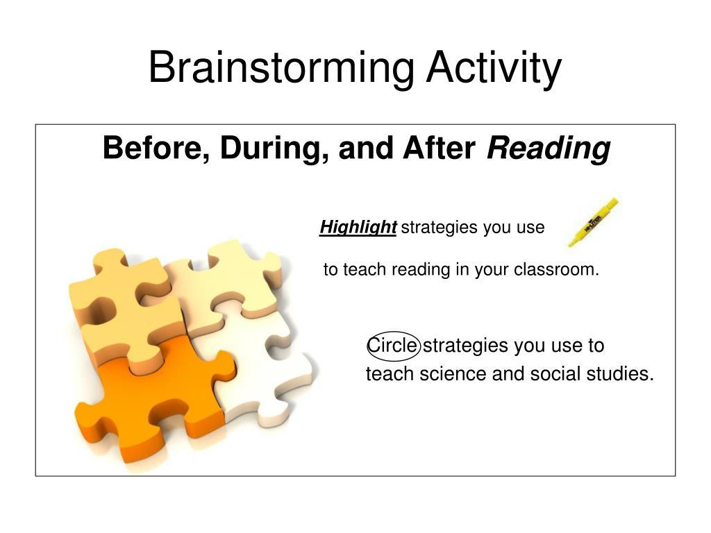 Brainstorming Activity