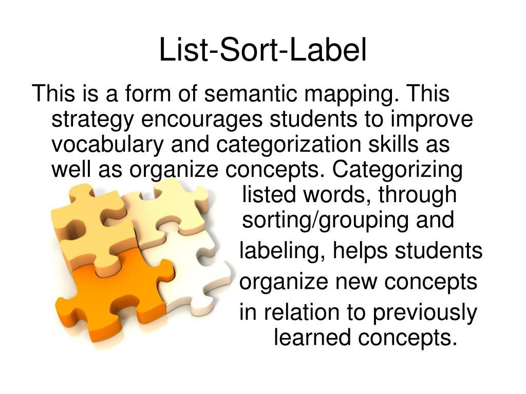 List-Sort-Label