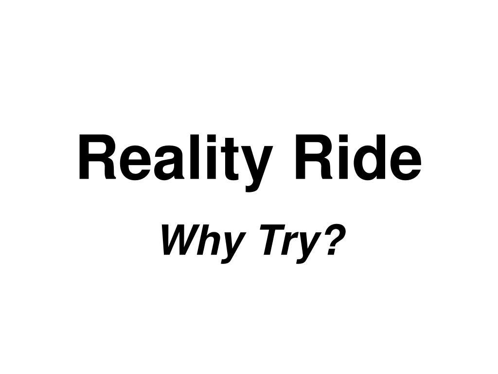 reality ride l.