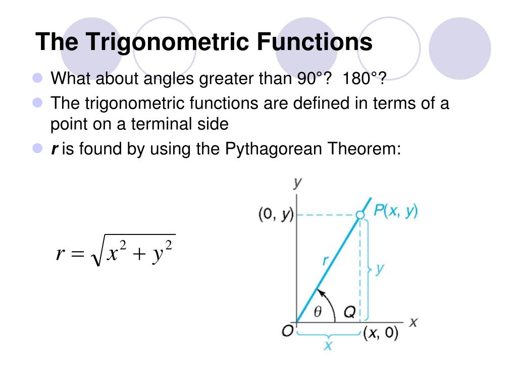 the trigonometric functions l.
