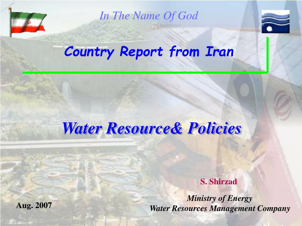 water resource policies l.