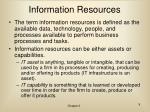 information resources9