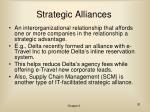 strategic alliances30