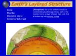earth s layered structure