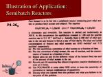illustration of application semibatch reactors31