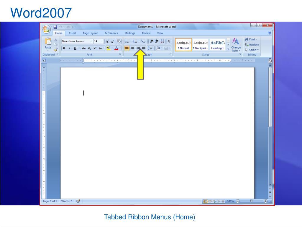 Word2007
