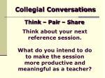 collegial conversations13