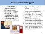 sector governance