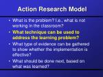 action research model7