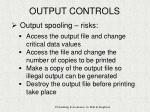 output controls18