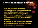 the free market system