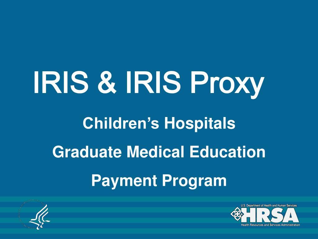 iris iris proxy l.