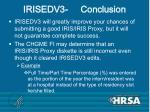 irisedv3 conclusion