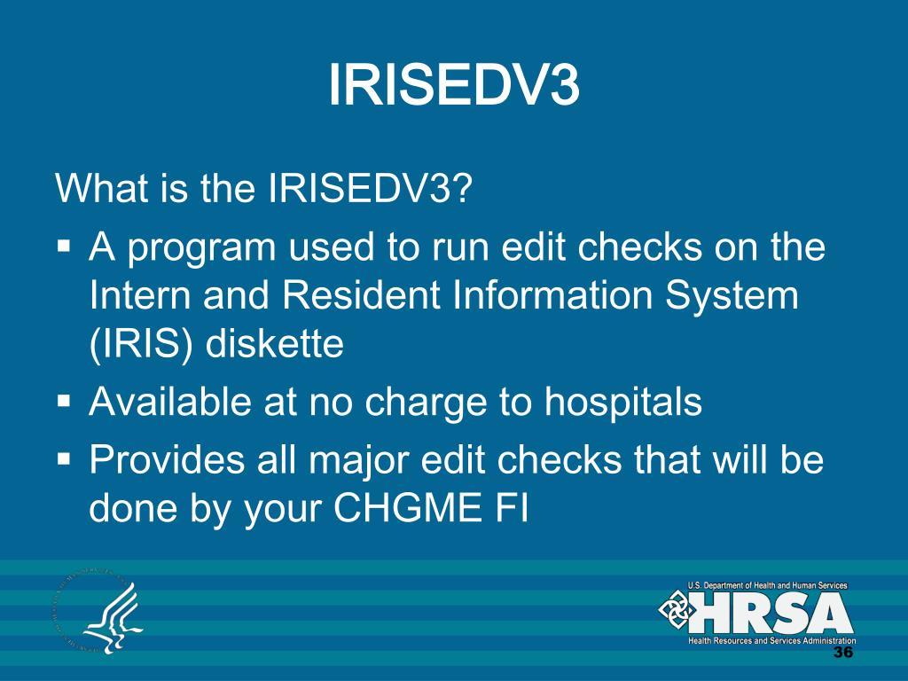 IRISEDV3
