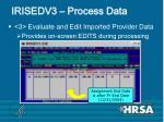 irisedv3 process data41