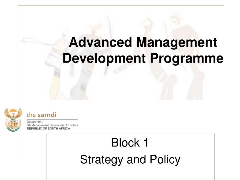block 1 strategy and policy l.