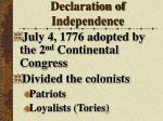 declaration of independence31