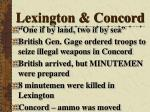 lexington concord