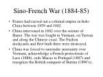 sino french war 1884 85