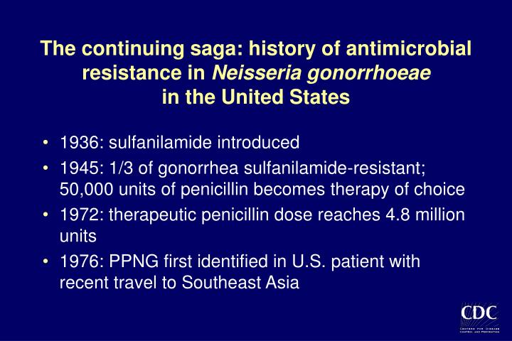 The continuing saga: history of antimicrobial resistance in