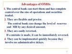 advantages of omos